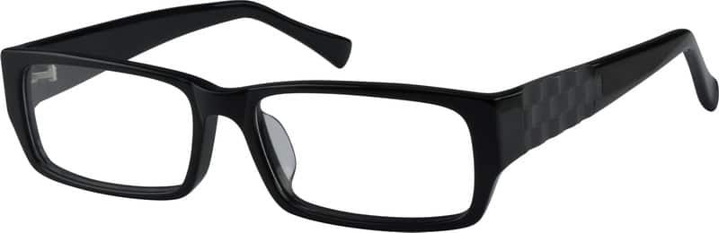 Black 4822 Acetate Full-Rim Frame