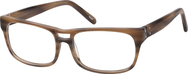 Men Full Rim Acetate/Plastic Eyeglasses #484315