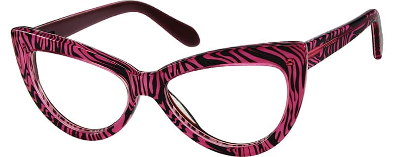 Women Full Rim Acetate/Plastic Eyeglasses #484422