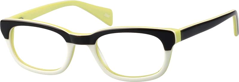 Women Full Rim Acetate/Plastic Eyeglasses #484935