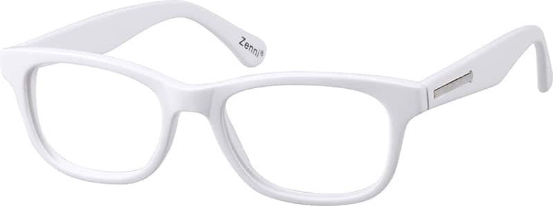 thick white frames