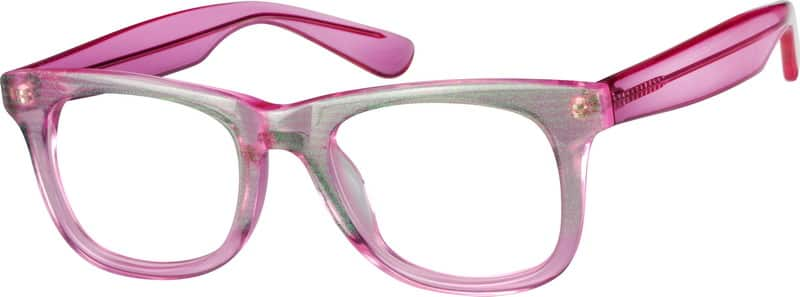 Women Full Rim Acetate/Plastic Eyeglasses #489430