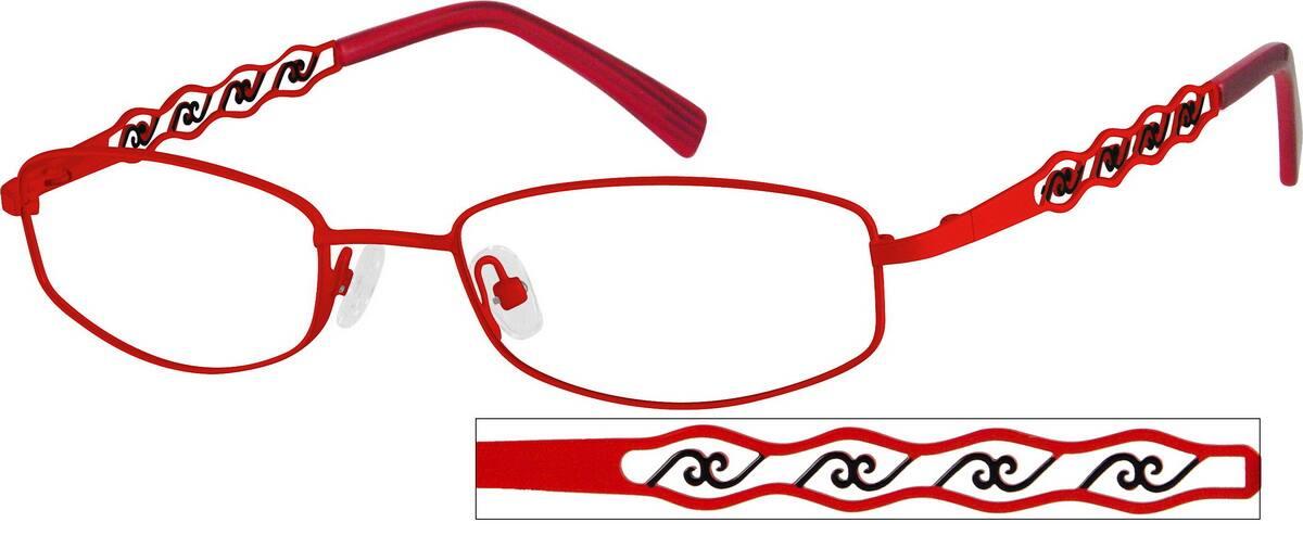 WomenFull RimStainless SteelEyeglasses #492718
