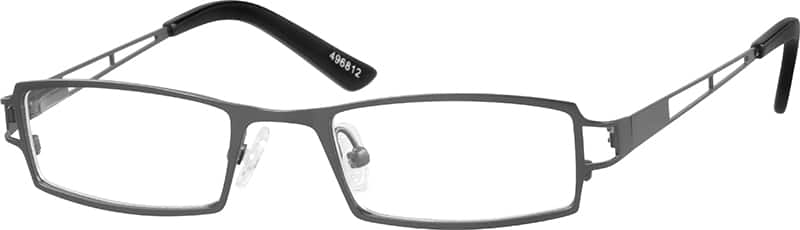 Boy Full Rim Stainless Steel Eyeglasses #496812