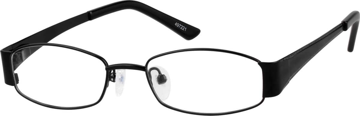 Boy Full Rim Stainless Steel Eyeglasses #497221