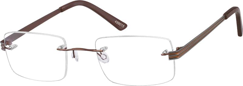 Rimless Stainless Steel Frame