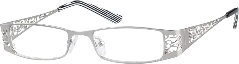 Stainless Steel Contemporary Fashion Looking Full-Rim Frame