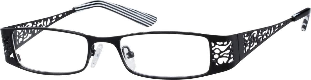 UnisexFull RimStainless SteelEyeglasses #499421