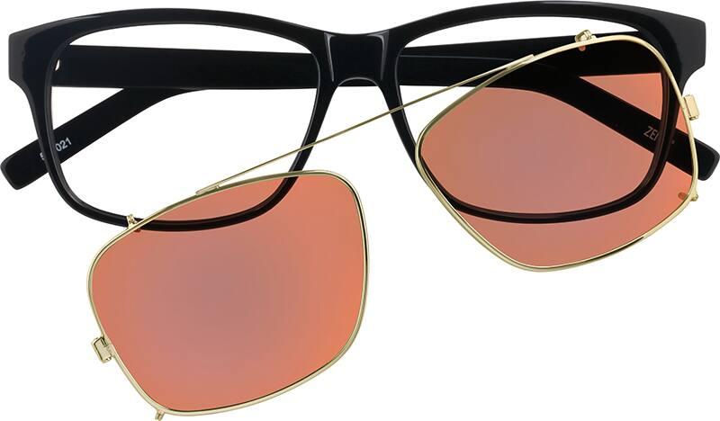 MenFull RimAcetate/PlasticEyeglasses #500021