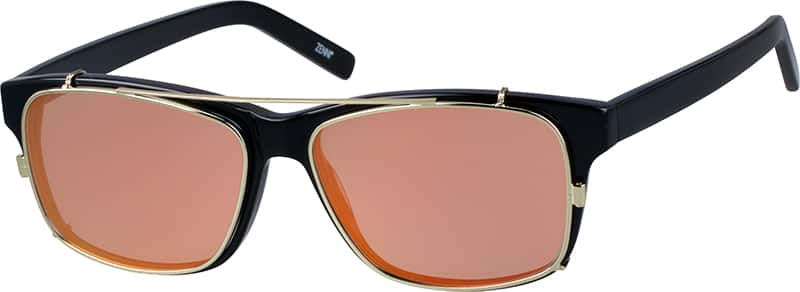 Men's Classic Eyeglasses with Sunshades