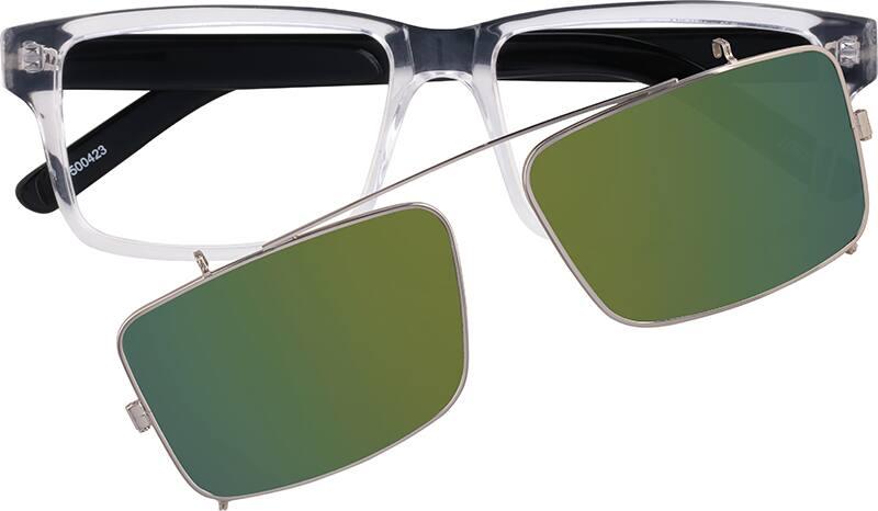 MenFull RimAcetate/PlasticEyeglasses #500423