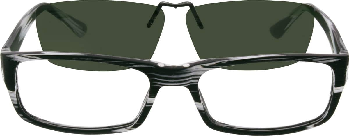 Men Full Rim Acetate/Plastic Eyeglasses #501615