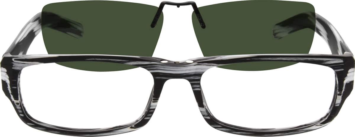 Men Full Rim Acetate/Plastic Eyeglasses #501832