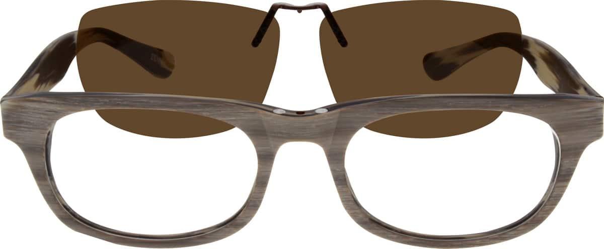 UnisexFull RimAcetate/PlasticEyeglasses #501935