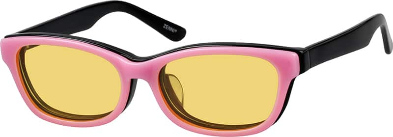 Women's Cat-Eye Eyeglasses with Sunshades