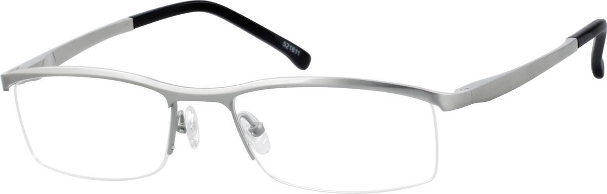MenHalf RimTitaniumEyeglasses #521621