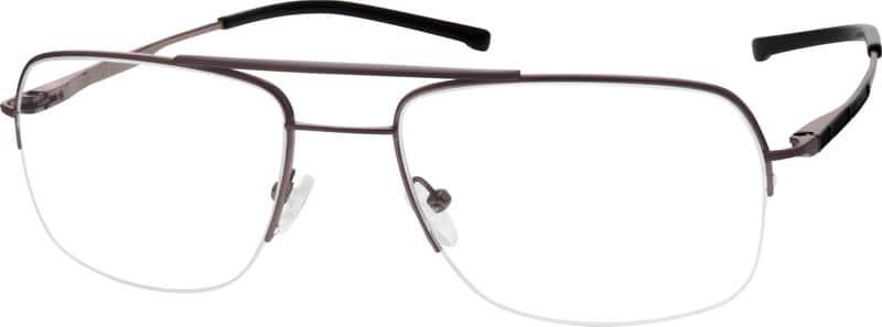 MenHalf RimTitaniumEyeglasses #521814