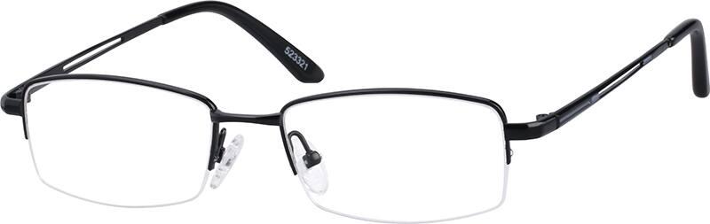 MenHalf RimTitaniumEyeglasses #523312