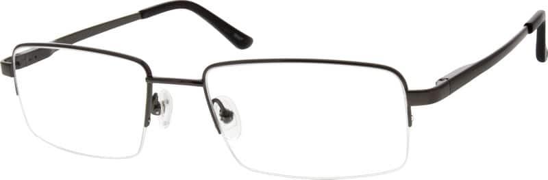 MenHalf RimTitaniumEyeglasses #524012
