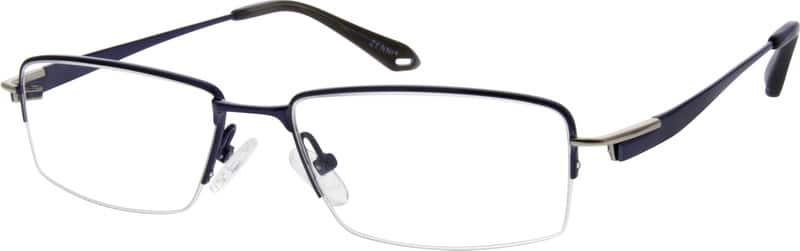 MenHalf RimTitaniumEyeglasses #524512