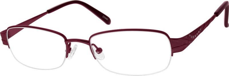WomenHalf RimTitaniumEyeglasses #524618