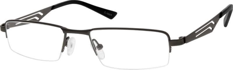 MenHalf RimTitaniumEyeglasses #524715