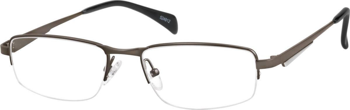 MenHalf RimTitaniumEyeglasses #524912