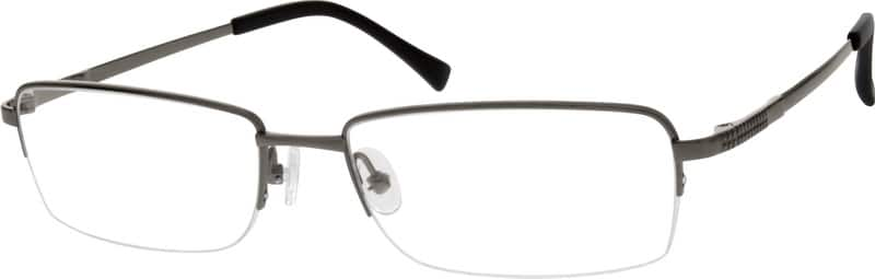 MenHalf RimTitaniumEyeglasses #525515