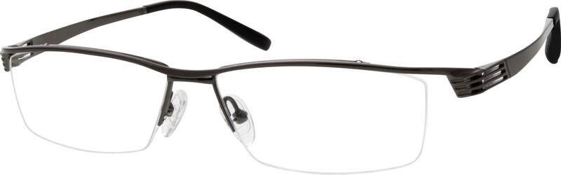 MenHalf RimTitaniumEyeglasses #525612