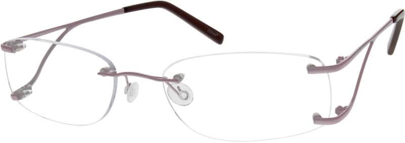 WomenRimlessTitaniumEyeglasses #526115