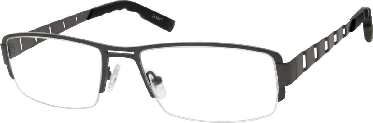 MenHalf RimTitaniumEyeglasses #526712