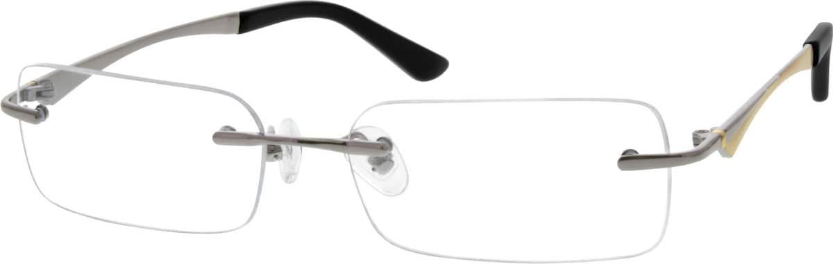 UnisexRimlessTitaniumEyeglasses #527321