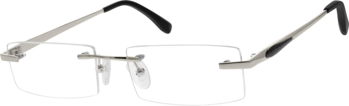 Men Rimless Titanium Eyeglasses #527414