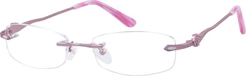 rimless-titanium-eyeglass-frame-527519