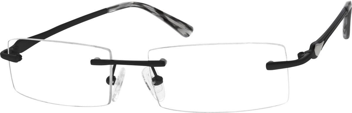MenRimlessTitaniumEyeglasses #527611