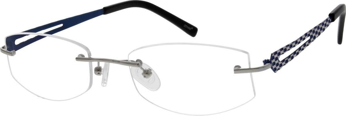 MenRimlessTitaniumEyeglasses #528214