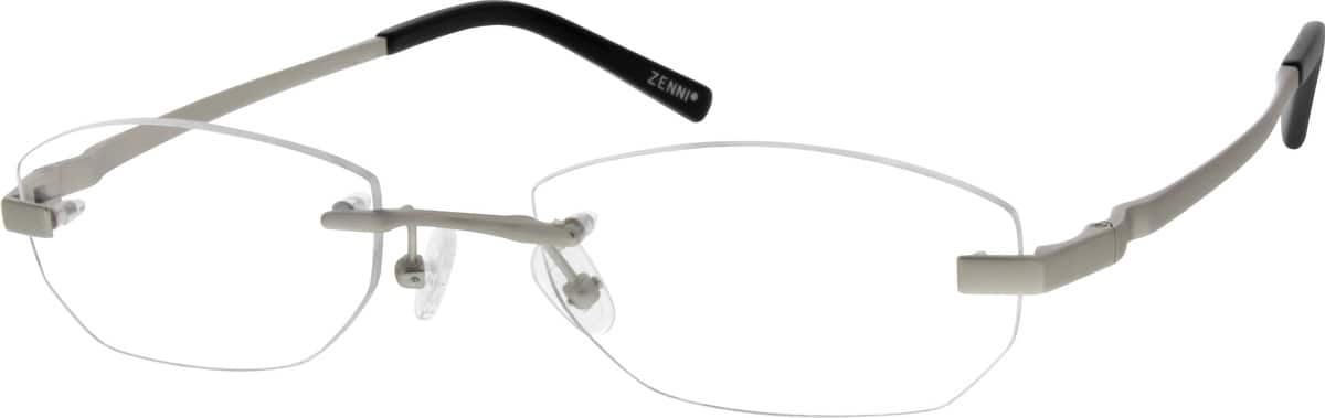 MenRimlessTitaniumEyeglasses #528814