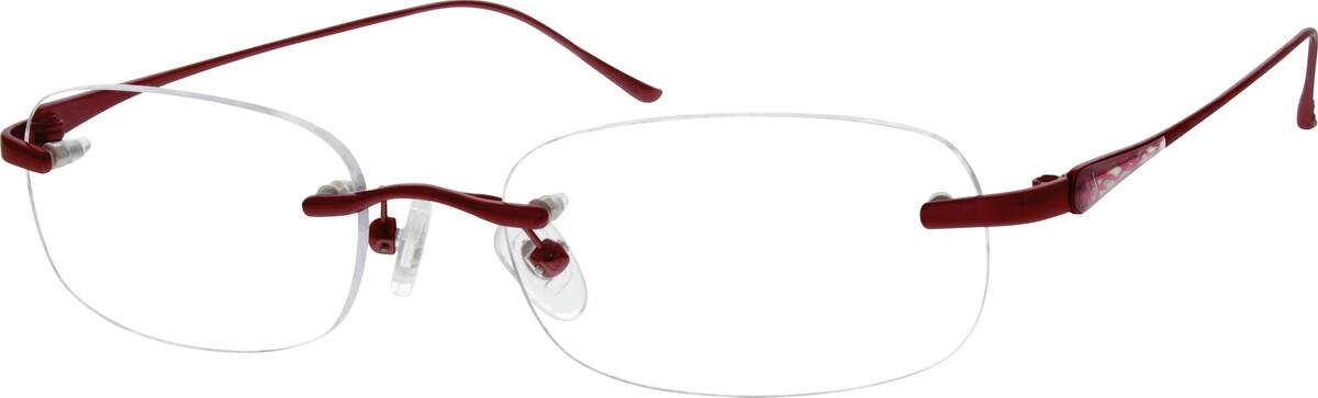 Women Rimless Titanium Eyeglasses #528919