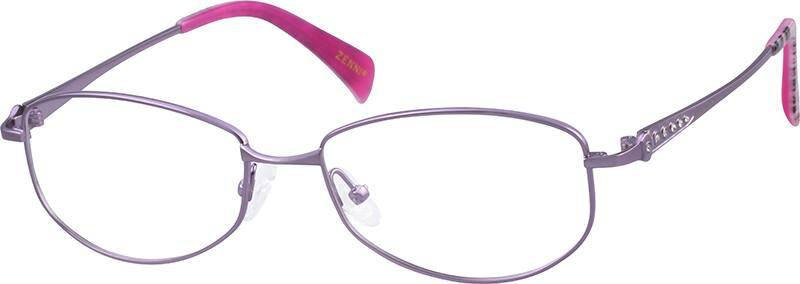 womens-titanium-full-rim-sparkling-crystals-eyeglass-frame-529917