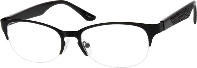 530321-stainless-steel-half-rim-frame-with-plastic-temples