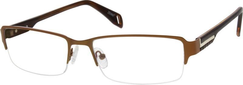 MenHalf RimMixed MaterialsEyeglasses #530415