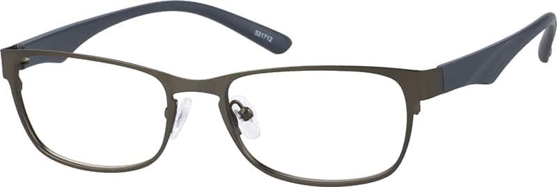 MenFull RimMixed MaterialsEyeglasses #531716
