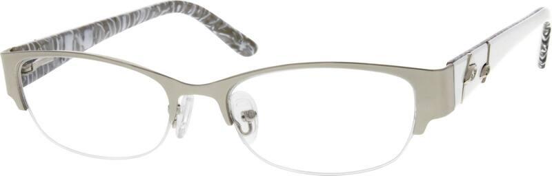 WomenHalf RimMixed MaterialsEyeglasses #531811