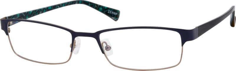 UnisexFull RimMixed MaterialsEyeglasses #531915