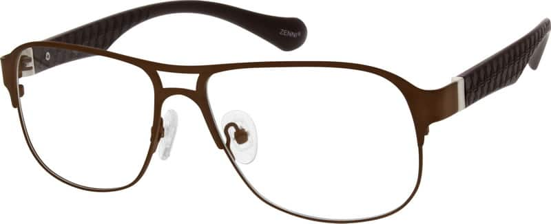 Men Full Rim Mixed Materials Eyeglasses #532312