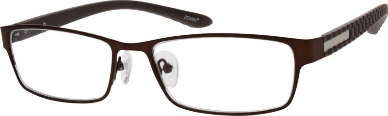 Men Full Rim Mixed Materials Eyeglasses #532421