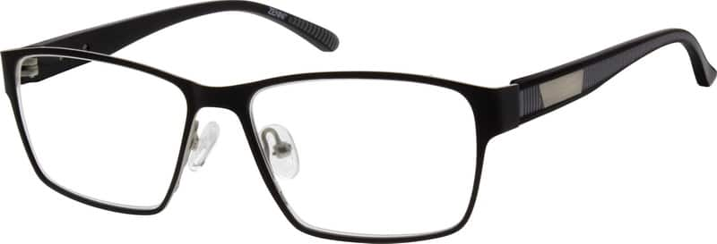 Men Full Rim Mixed Materials Eyeglasses #533018