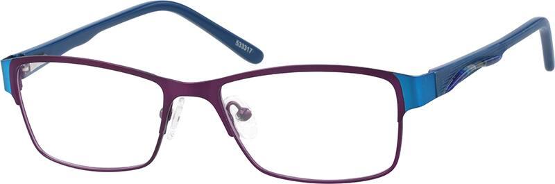 WomenFull RimMixed MaterialsEyeglasses #533317