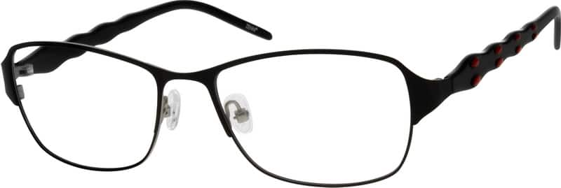 Women Full Rim Mixed Materials Eyeglasses #533417