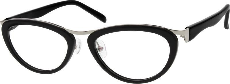 WomenFull RimMixed MaterialsEyeglasses #533515